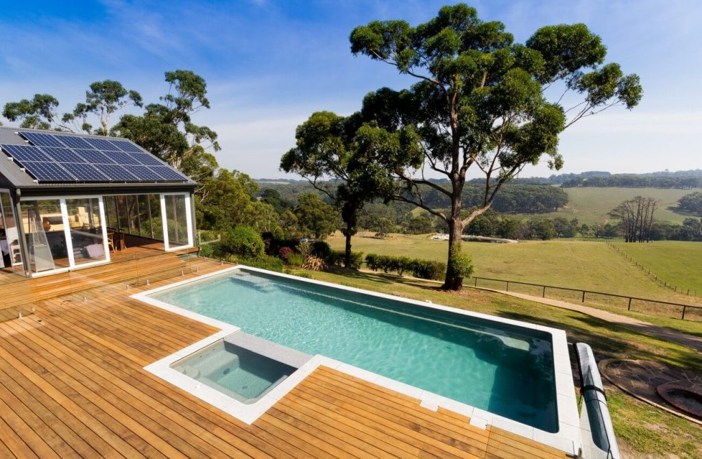 Compass Pools Australia X Trainer Fibreglass Pool Installation 010