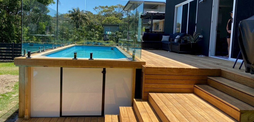 Above ground plunge pools - Little Pools by Compass Pools Australia