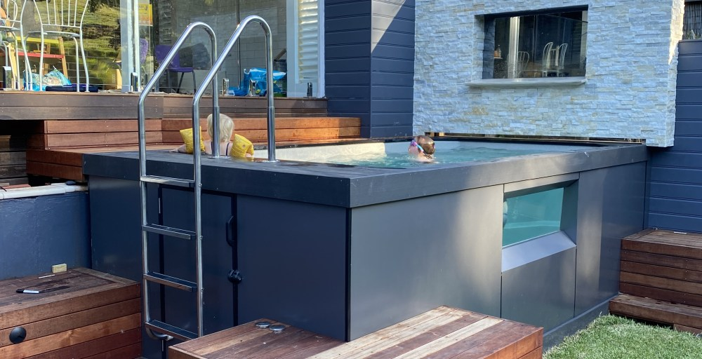 Fibreglass plunge pools are increasingly popular